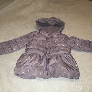 The Children's Place hooded puffer jacket w/ stars